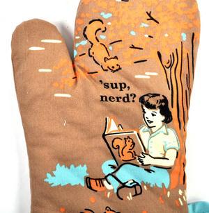 Sup Nerd? Oven Glove Mitt Thumbnail 2