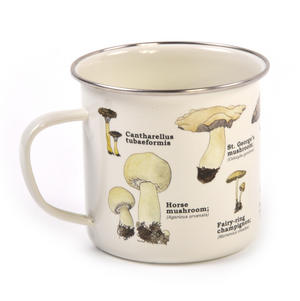 Mushrooms Encyclopaedia Enamel Mug Thumbnail 2