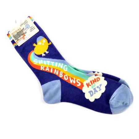 Shi*ting Rainbows Socks