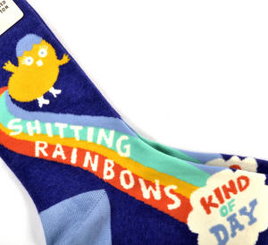 Shi*ting Rainbows Socks Thumbnail 2
