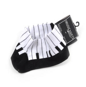 Piano Keys Keyboard Socks for Composer / Musician / Choir (Size 6 - 11) Thumbnail 2