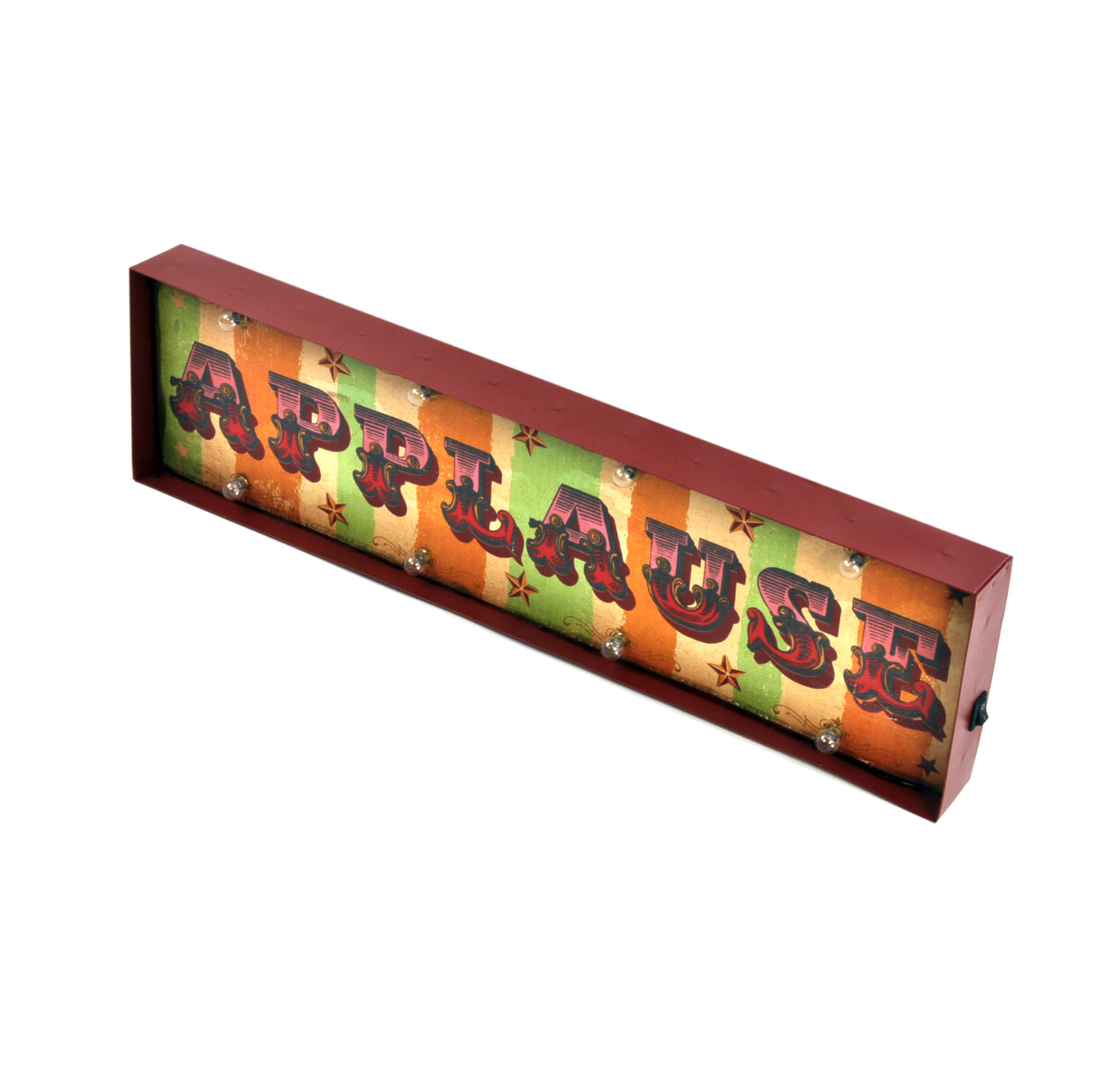Carnival Toy Box Pink: Carnival Applause Box Light