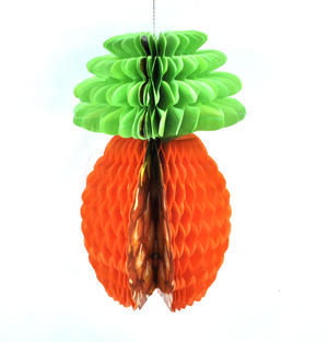 Honeycomb Pineapple Paper Decoration Thumbnail 2