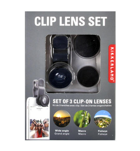 Clip Lens Set - Transform Your Mobile Camera