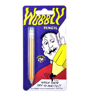 Wobbly Pencil - The Classic Optical Gag Thumbnail 1