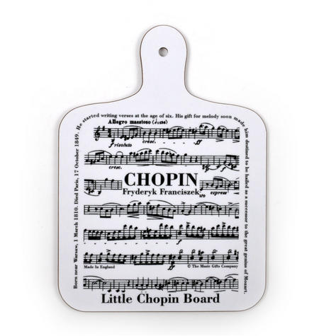Fryderyk Franciszek Chopin - Little Chopin Board Chopping Board
