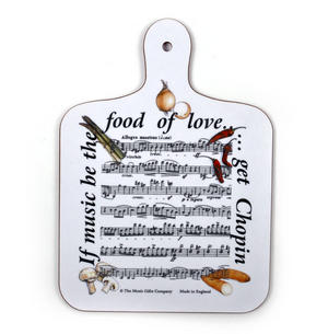 If Music Be the Food of Love? Get Chopin Chopping Board Thumbnail 1