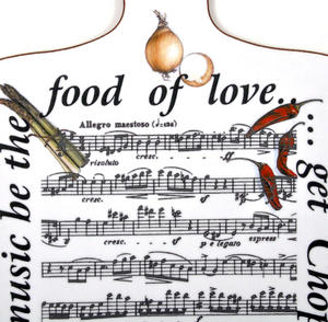 If Music Be the Food of Love? Get Chopin Chopping Board Thumbnail 2