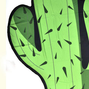 Cactus Beach Towel - 180cm  Super Large Thumbnail 4