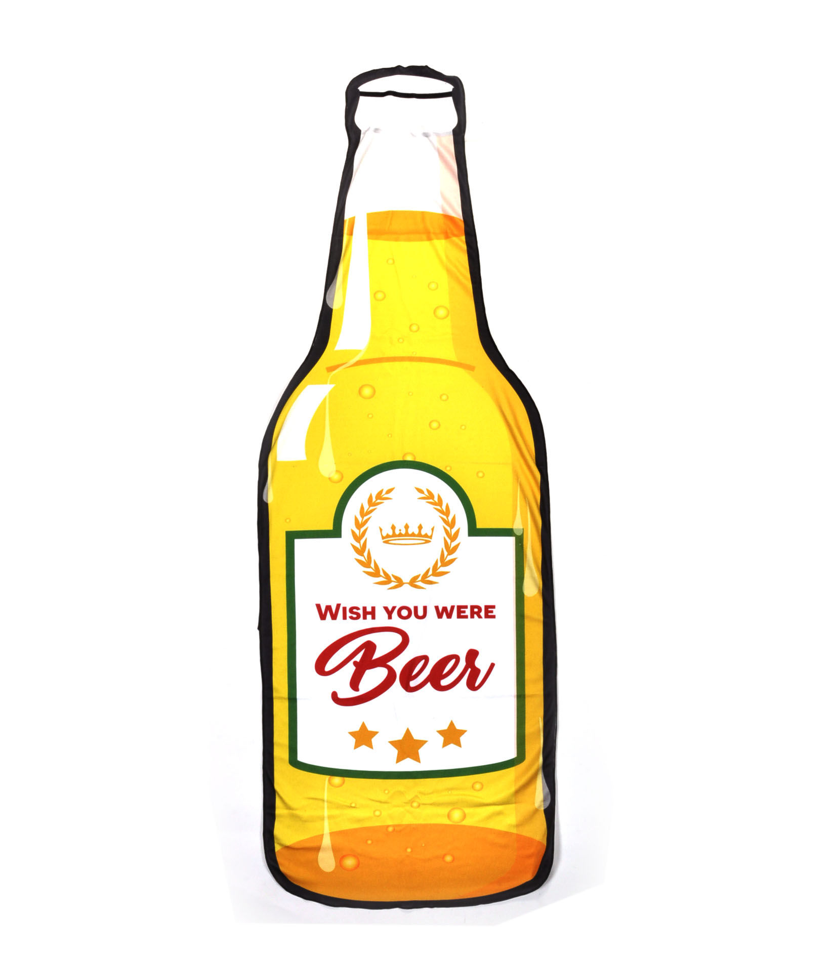Beer Bottle Beach Towel 180cm Super Large 5055822219449