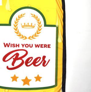 Beer Bottle Beach Towel - 180cm  Super Large Thumbnail 2