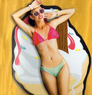 Ice Cream Beach Towel - 180cm  Super Large Thumbnail 2