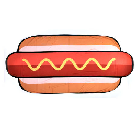 Hot Dog Beach Towel - 180cm  Super Large