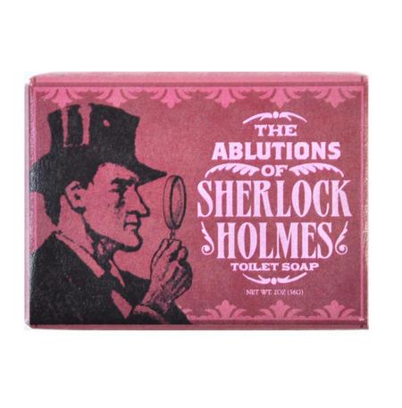 Sherlock Holmes Soap - Ablutions of Sherlock Toilet Soap