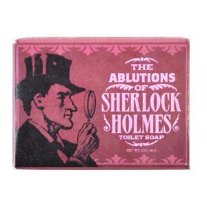 Sherlock Holmes Soap - Ablutions of Sherlock Toilet Soap Thumbnail 1
