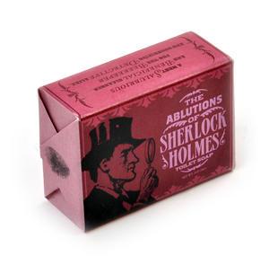 Sherlock Holmes Soap - Ablutions of Sherlock Toilet Soap Thumbnail 2