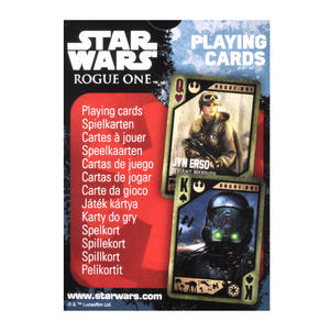 Star Wars - Rogue One Playing Cards Thumbnail 2