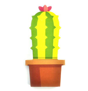 Cactus Sticky Notes Thumbnail 1