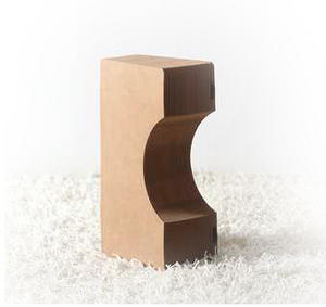 Diabolo Stool & Felt Top by Paper Lounge - Portable Concertina Design  / Supports up to 100kg Thumbnail 4