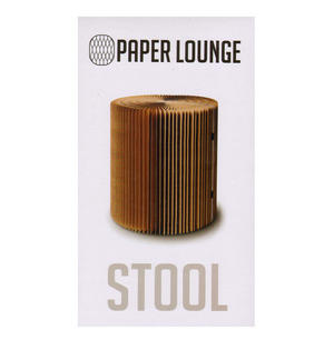 Medium Stool & Felt Top by Paper Lounge - Portable Concertina Design / Supports up to 100kg Thumbnail 1
