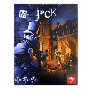 Mr. Jack - London 1888 - Jack the Ripper Board Game Thumbnail 1