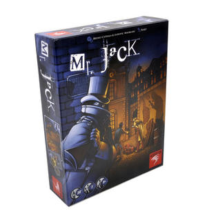 Mr. Jack - London 1888 - Jack the Ripper Board Game Thumbnail 5