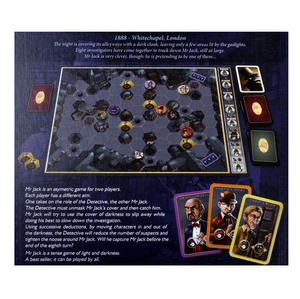 Mr. Jack - London 1888 - Jack the Ripper Board Game Thumbnail 6
