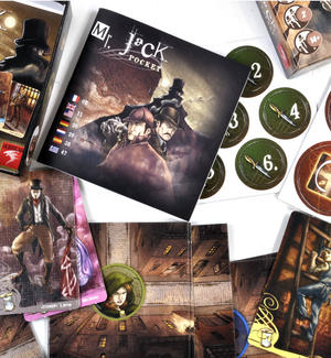 Pocket Mr. Jack -  Jack the Ripper Board Game