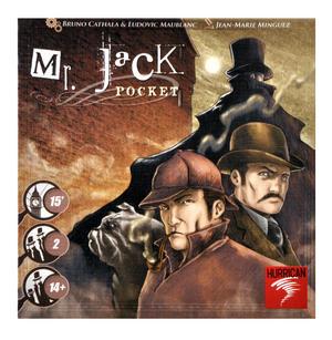 Pocket Mr. Jack -  Jack the Ripper Board Game Thumbnail 4