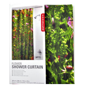 Flower Shower Curtain 180 x 200 cm / 70 x 79 inches Thumbnail 4