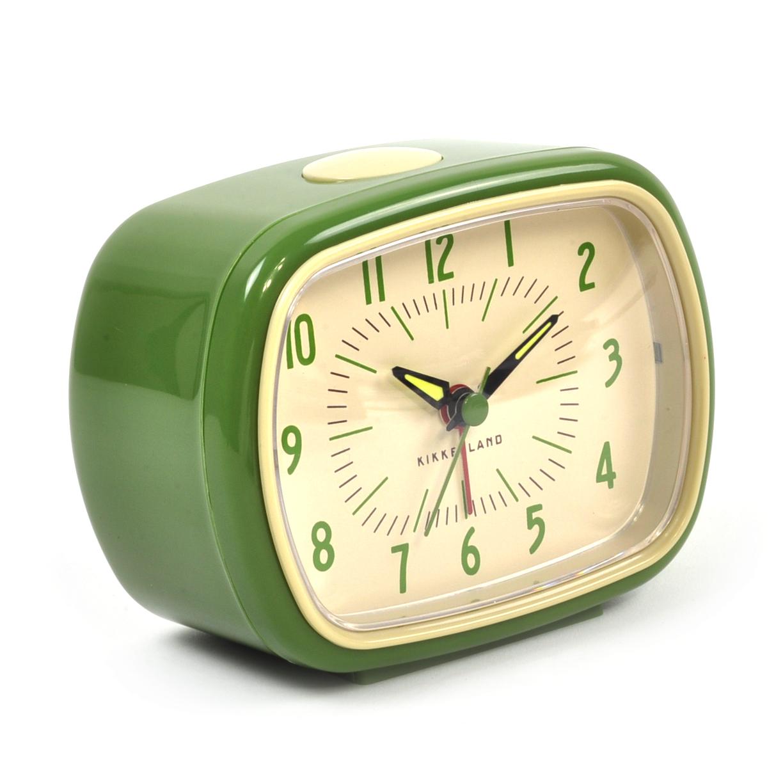 /Retro Alarm Clock with Luminous Hands 11 x 9 x 6 cm / 4 x ...