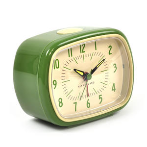Retro Alarm Clock with Luminous Hands 11 x 9 x 6 cm / 4 x 3  x 2 inches Thumbnail 2