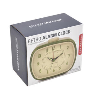 Retro Alarm Clock with Luminous Hands 11 x 9 x 6 cm / 4 x 3  x 2 inches Thumbnail 3