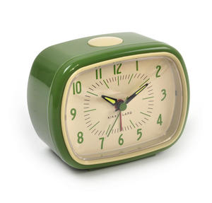 Retro Alarm Clock with Luminous Hands 11 x 9 x 6 cm / 4 x 3  x 2 inches Thumbnail 4