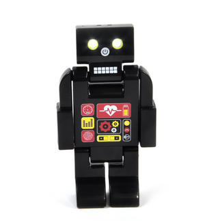 Pozebot - Poseable Robot with LED Eyes