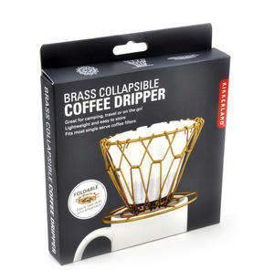 Brass Collapsible Coffee Dripper Thumbnail 2