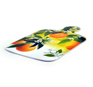 "Citrus Fruit Chopping Board - Melamine 34 cm / 8.5"" X 13"" Thumbnail 3"