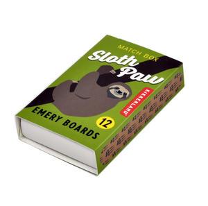 Sloth Paw Match Box Emery Boards Thumbnail 3
