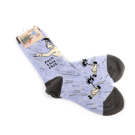 F*ck this S*it Women's Crew Socks