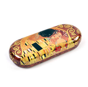 Gustav Klimt - The Kiss Glasses Case Thumbnail 1
