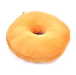 24cm / 9 inch Donut Pillow - Chocolate Doughnut Replicushion Thumbnail 4
