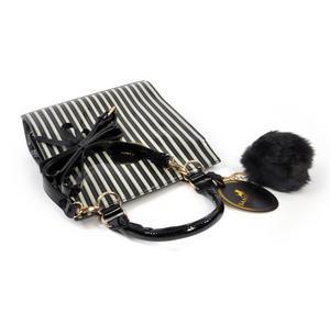 Ladybird - Large Shoulder Bag in Gorjuss Stripes Thumbnail 4