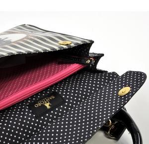 Ladybird - Large Shoulder Bag in Gorjuss Stripes Thumbnail 6