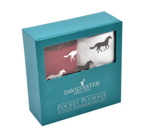 Galloping Horses - Handkerchief Pocket Plumage Box Set Thumbnail 3