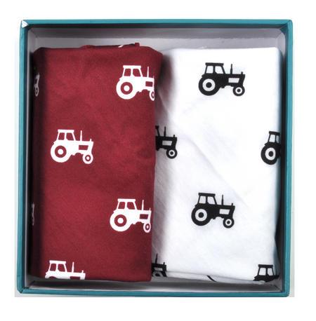 Tractor - Handkerchief Pocket Plumage Box Set