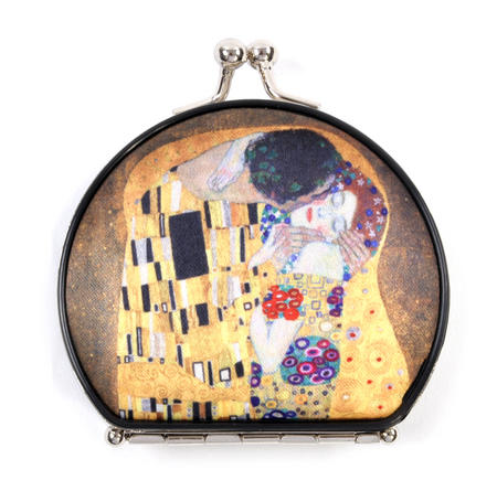 Gustav Klimt The Kiss Compact Mirror
