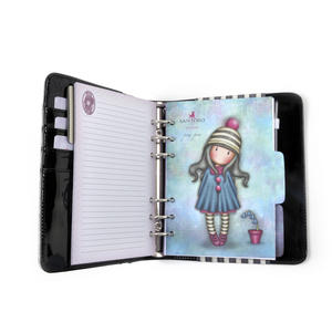 Rosebud - Gorjuss Stripes PVC Organiser Journal Thumbnail 3