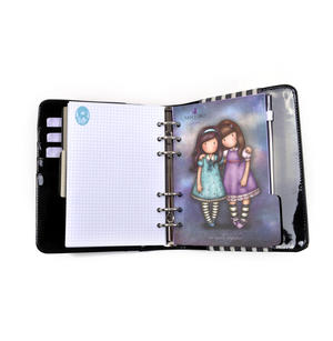 Rosebud - Gorjuss Stripes PVC Organiser Journal Thumbnail 4