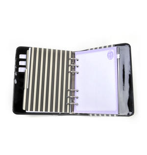 Rosebud - Gorjuss Stripes PVC Organiser Journal Thumbnail 5