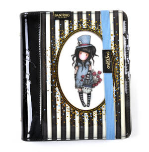 The Hatter - Gorjuss Stripes PVC Organiser Journal Thumbnail 1